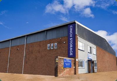 A self storage facility building