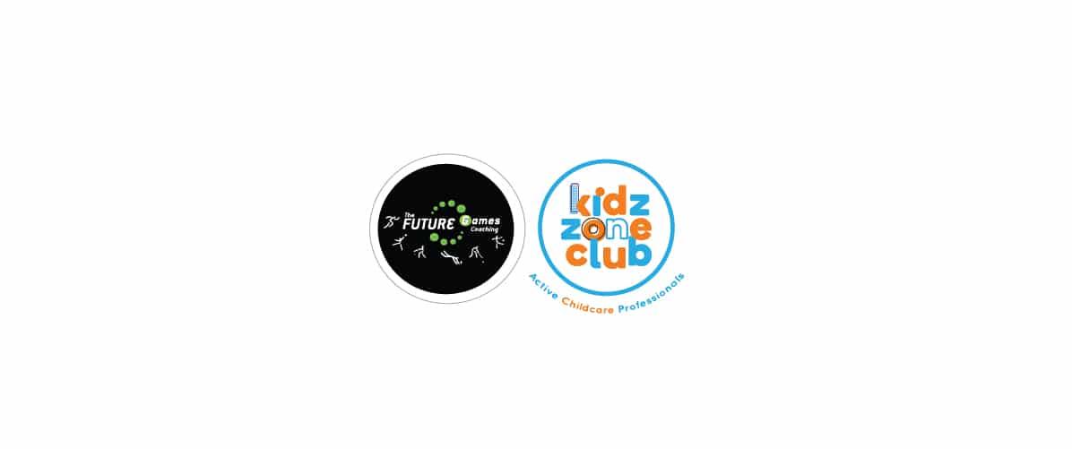 The Future Games and Kidz Zone Logo