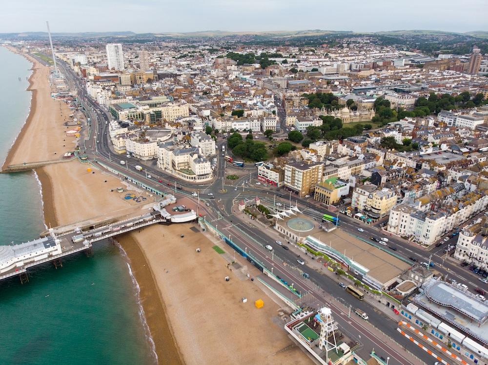 Brighton Aerial photo